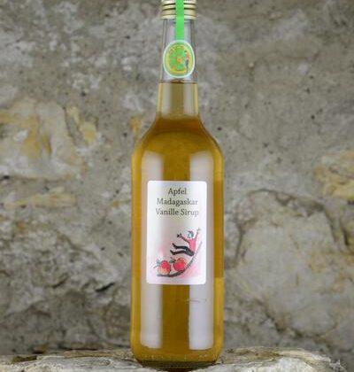 Apfel Madagaskar Vanille Sirup